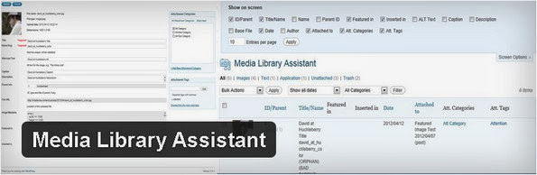 Media Library Assistant WordPress plugin
