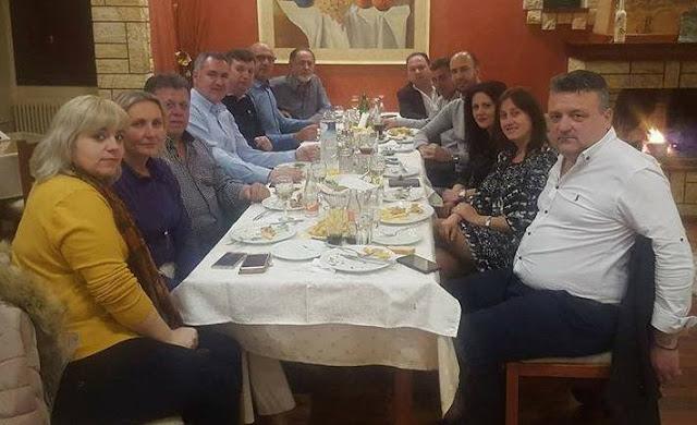 Συνάντηση εκλεγμένων αυτοδιοικητικών της Νέας Δημοκρατίας στην Παραμυθιά