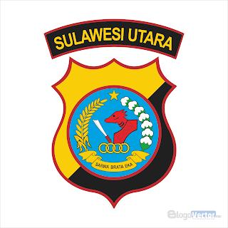 Polda Sulawesi Utara Logo vector (.cdr)