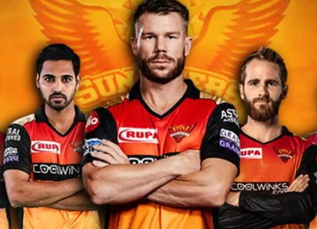 IPL 2021 :Sunrisers Hyderabad Full Players List
