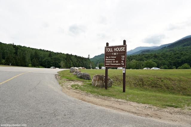 Entrada a Mount Washington, New Hampshire
