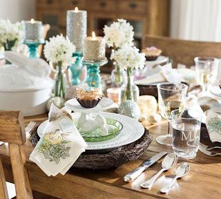 tavola glitter pasqua