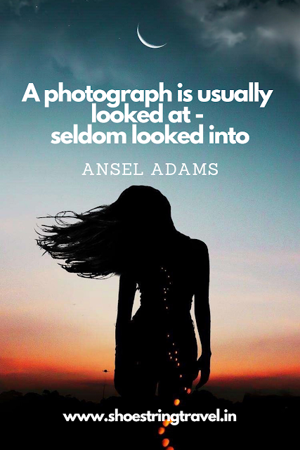 Photography Quotes by Ansel Adams #Photography #Quotes #AnselAdams