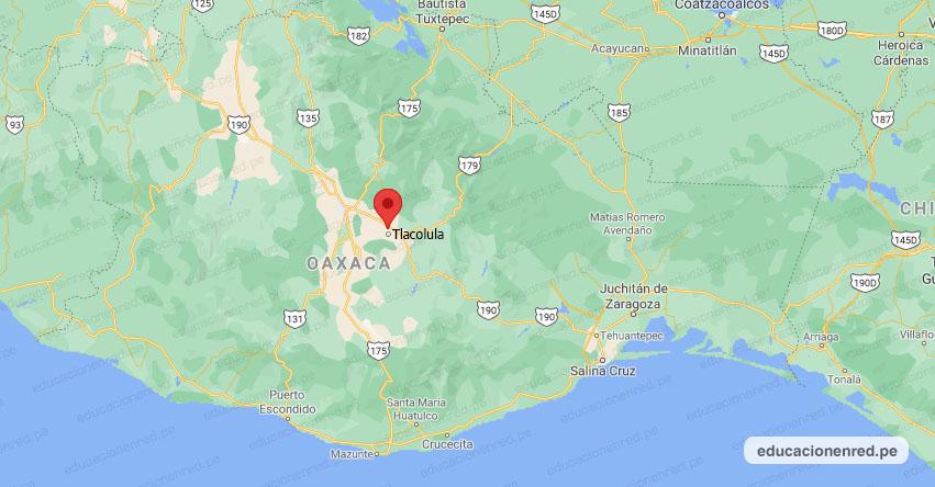 Temblor en México de Magnitud 4.8 (Hoy Viernes 09 Julio 2021) Sismo - Epicentro - Tlacolula de Matamoros - Oaxaca - OAX. - SSN - www.ssn.unam.mx