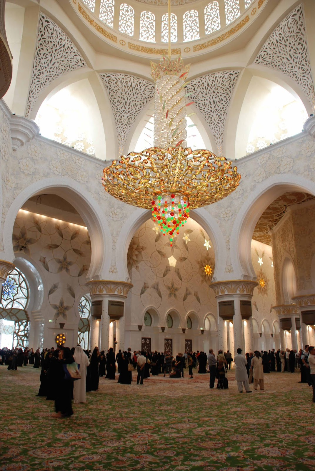 Sheikh Zayed Grand Mosque Travel Gourmande