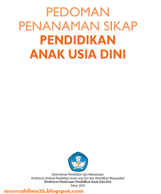 Download Dokumen Pedoman Penanaman Sikap Pendidikan Anak Usia Dini (PAUD)
