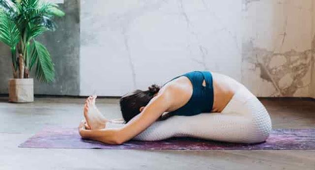 Yoga postures for mental health