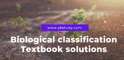 Chapter 2 biology class 11 Textbook Solutions