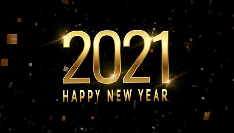 Happy New Year 2021 download besplatne slike i pozadine za Sony PSP ecards čestitke Sretna Nova godina