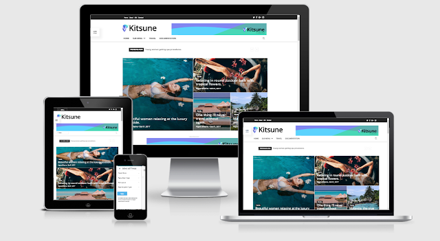Kisume Responsive Template Blogger
