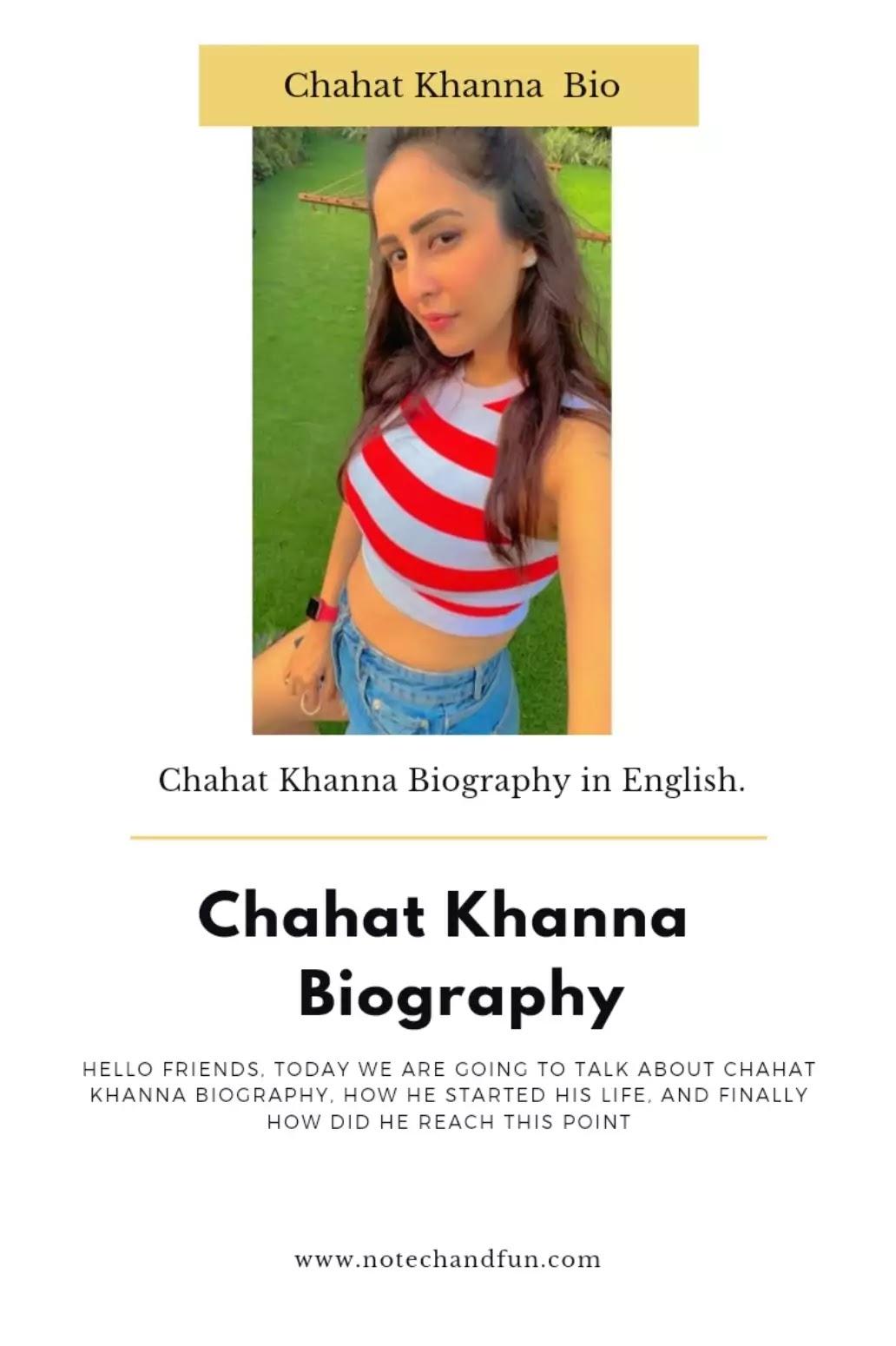 Chahat Khanna Instagram