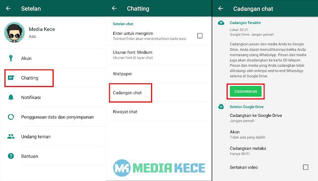 Cara Membuka Whatsapp Yang Diblokir