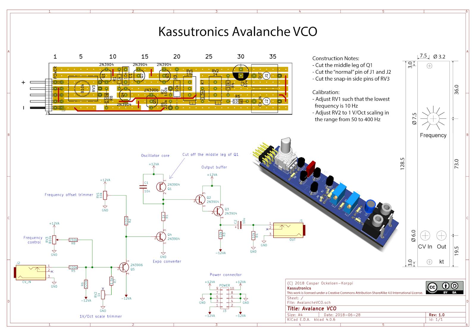 Diy Vco Schematic