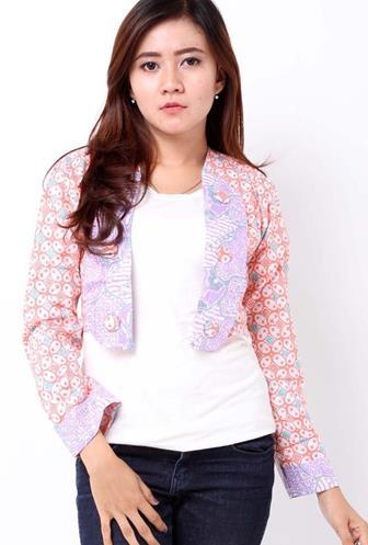 Baju Bolero Batik Lengan Panjang Banyak Diminati