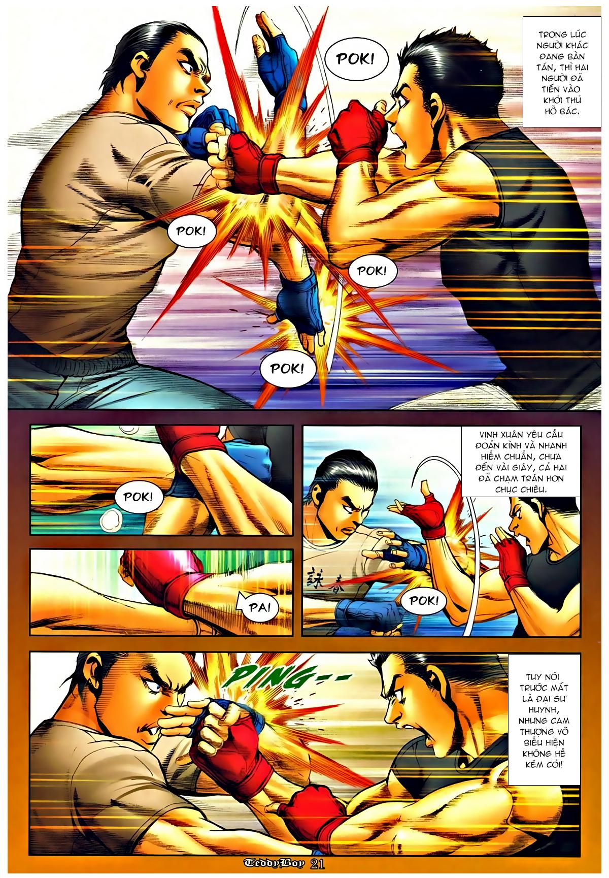 Người Trong Giang Hồ - Chapter 1281: Ai đánh qua tao? - Pic 17