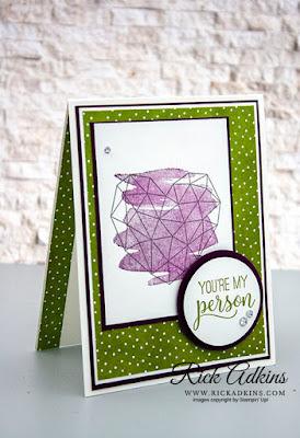 Modern Heart Stamp Set, Best Dressed Designer Series Paper, Rick Adkins, Stampin' Up!