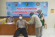 Kapolres Lombok Utara terima Vaksin Covid-19