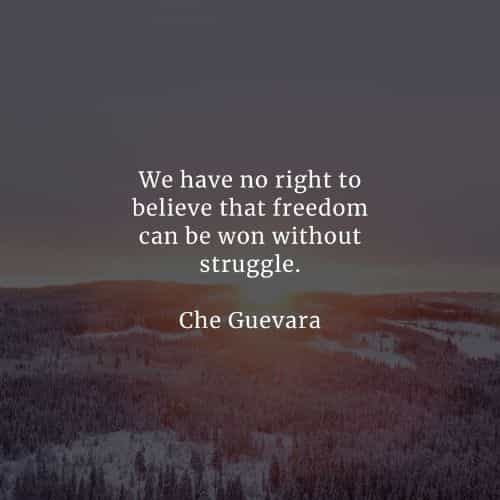 Famous quotes and sayings by Che Guevara