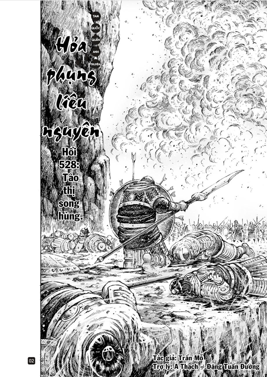 Hỏa phụng liêu nguyên Chương 528: Tào thị song hùng trang 2