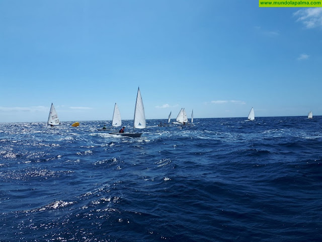 Nueve regatistas de La Palma asisten a una concentración regional en Gran Canaria