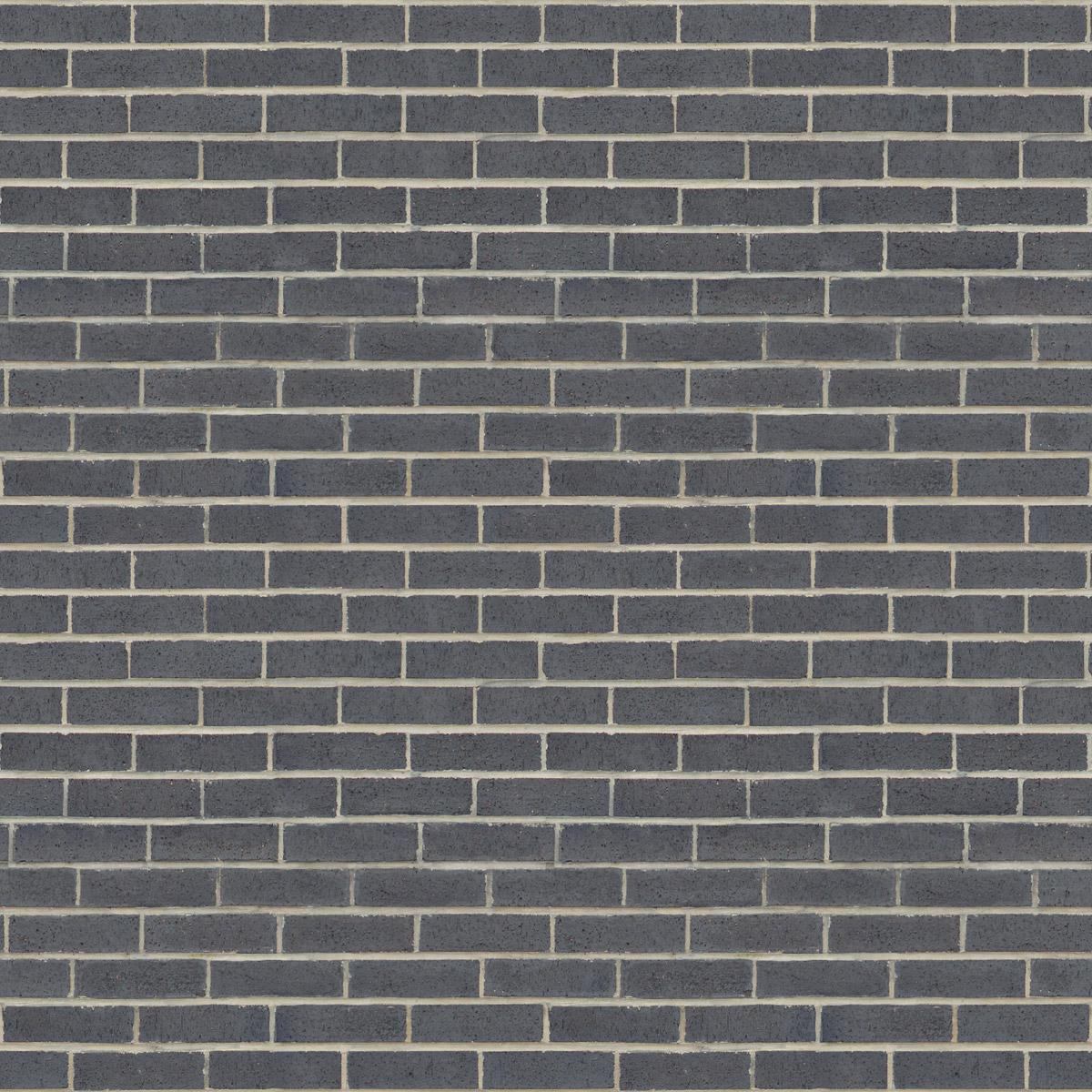 Tileable Grey Brick Wall Texture Maps