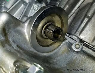 Stelvio Oil Filter Flange