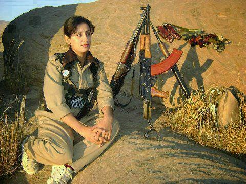 Pakistani army girl