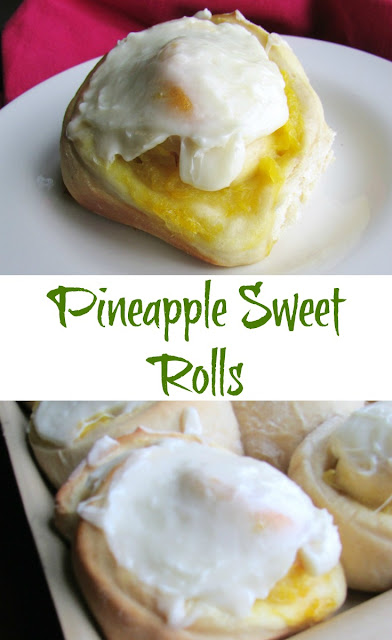 These beauties are the perfect spring and summer treat. Bring the taste of the tropics to your breakfast or brunch table with a pineapple sweet roll!