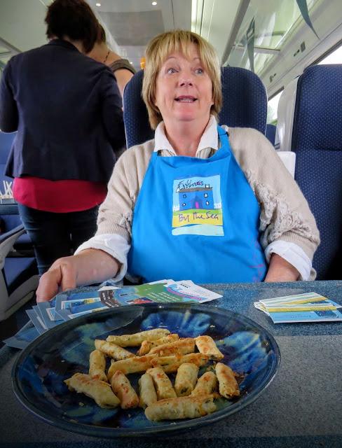 Eithna O'Sullivan from Eithna's by the Sea on the Sligo Food Train