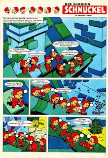 Schnuckel serie para la revista Pepito