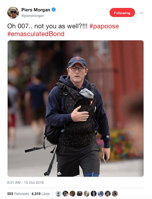 Daniel Craig, Piers Morgan, Papoose, Parenting, Dad life, new baby,