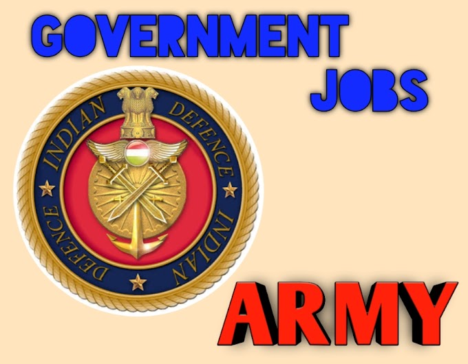 Indian Army Recruitment For Men - last Date 27 April 2020
