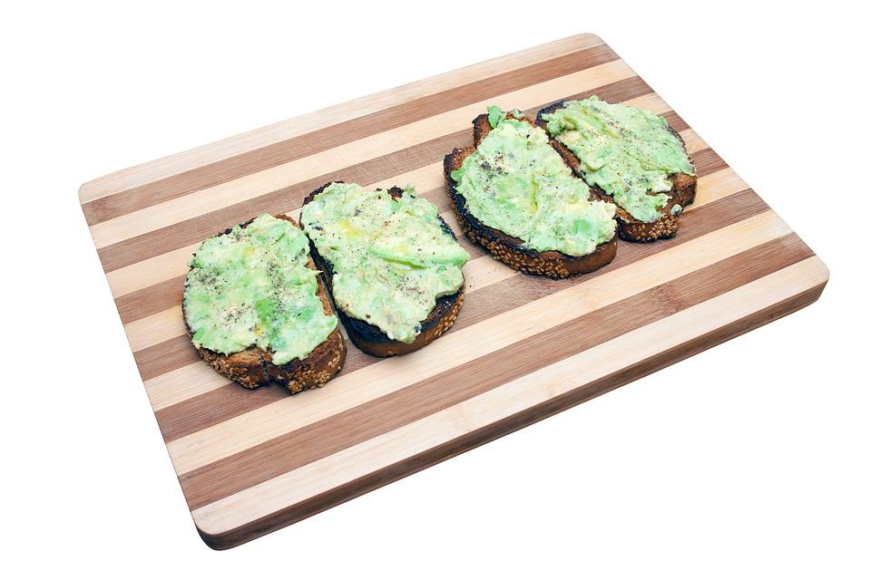 Рецепт тост с пастой из авокадо