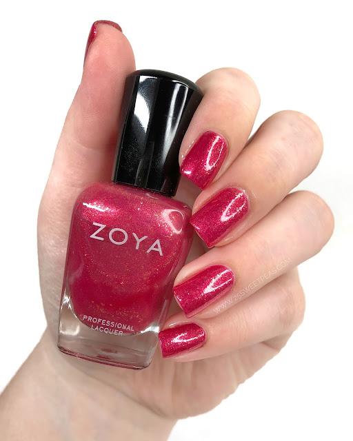 Zoya Robbie Swatch 25 Sweetpeas
