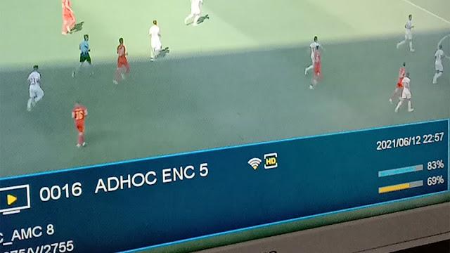 Cara Nonton Euro di Adhoc Enc di Eutelsat 172B