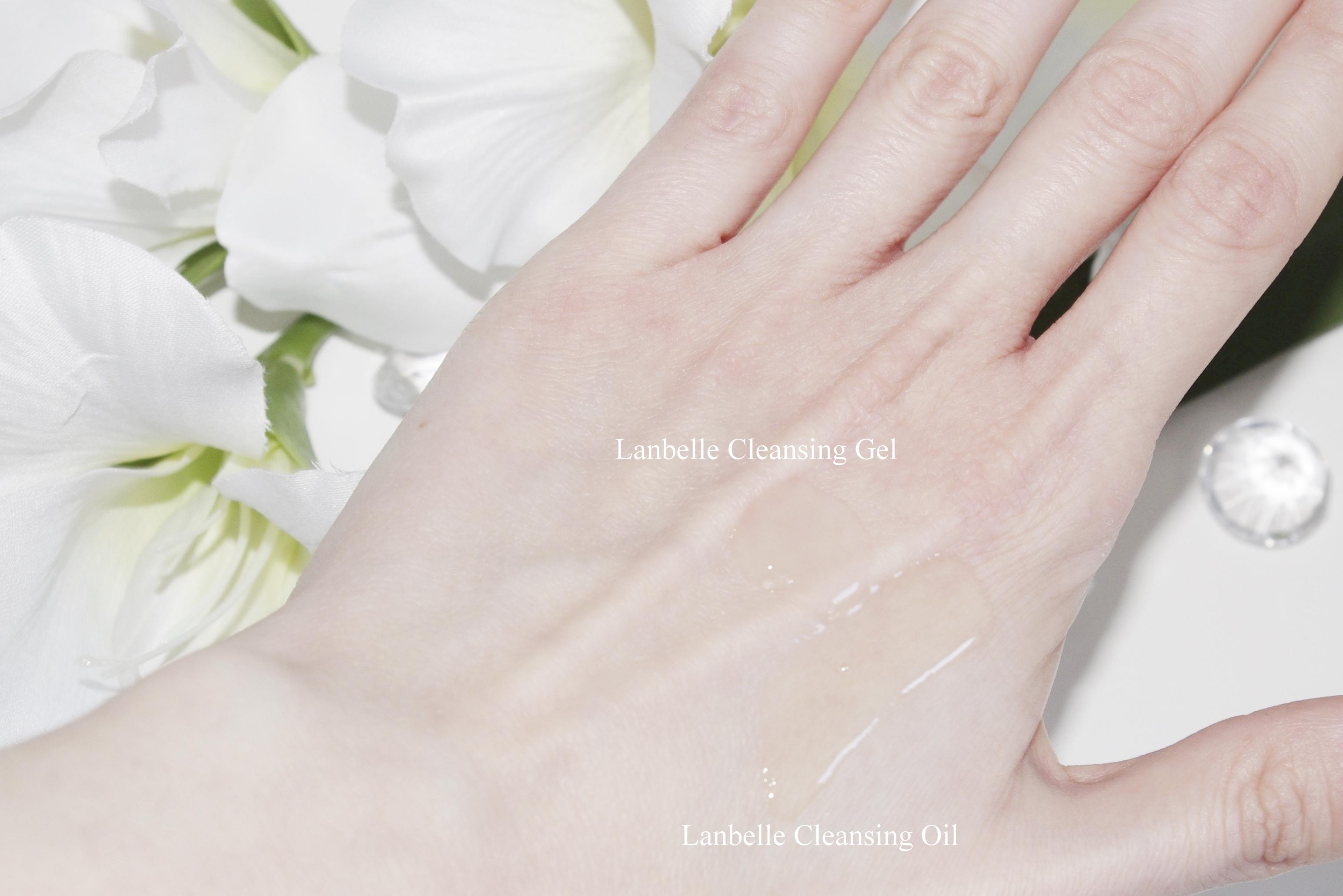 Lanbelle: Cleansing Oil - Naturalny Olejek do Demakijażu oraz Mycia Twarzy i Cleansing Gel - Delikatny Kokosowy Żel do Mycia Twarzy