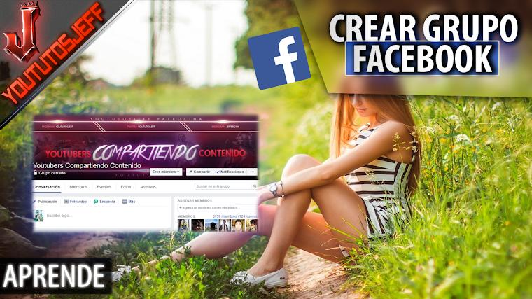 Como crear un grupo de Facebook
