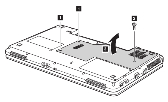 Removal steps of Memory/Wireless module/CPU compartment