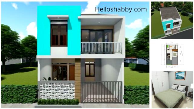 Desain Dan Denah Rumah 6 X 12 M Dengan 3 Kamar Tidur Dan 2 Ruang Keluarga Cocok Untuk Keluarga Di Kota Dan Desa Helloshabby Com Interior And Exterior Solutions