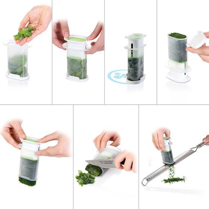 PRESS FOR FROZEN HERBS