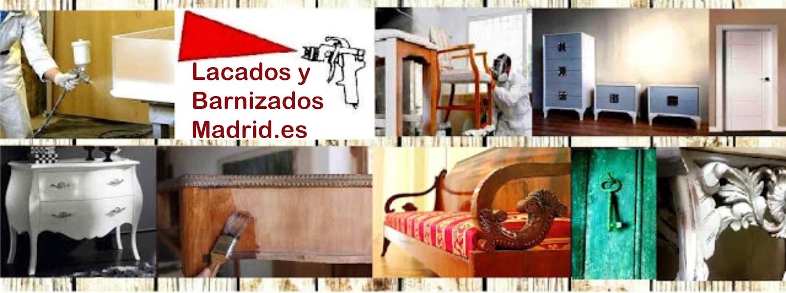 Restauracion De Muebles Madrid : Barnizados lacados restauracion muebles madrid
