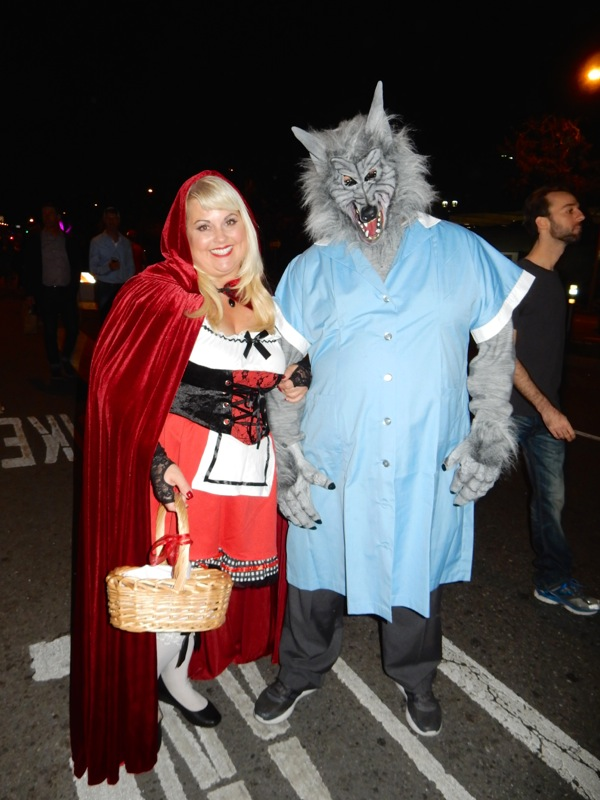 red riding hood wolf costumes west hollywood halloween