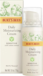 Burt's Bees Sensitive Skin Care Line, sensitive skin line, facial cleanser, sensitive facial wash