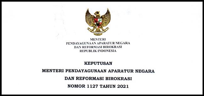 Kemenpan RB Nomor 1127 Tahun 2021 Tentang Nilai Ambang Batas Seleksi Kompetensi PPPK Guru