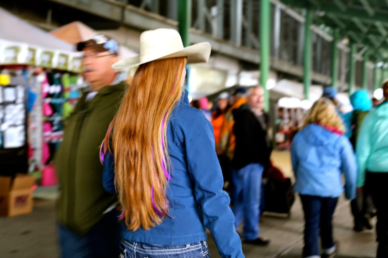 Cowgirl, Alaska State Fair