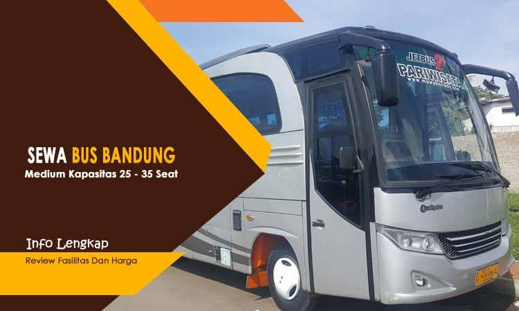 Sewa Bus Pariwisata Medium Bandung Harga Murah