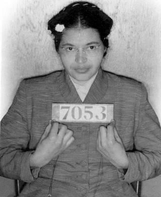 Rosa Parks detenida