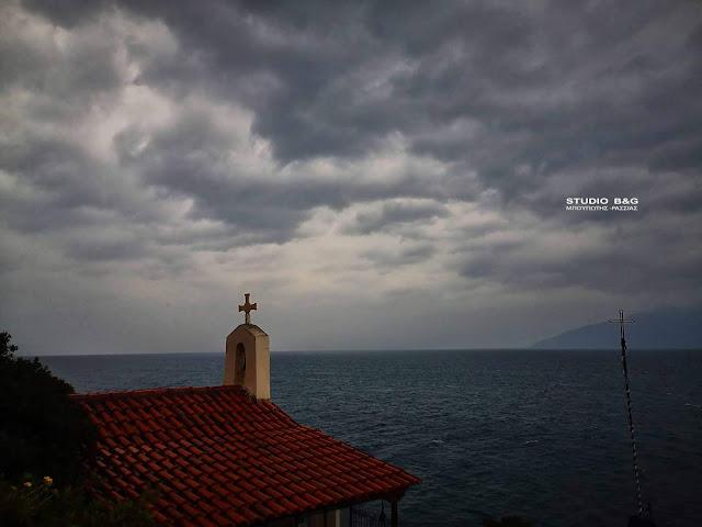Βροχές και καταιγίδες από την Κυριακή στην Αργολίδα (βίντεο)