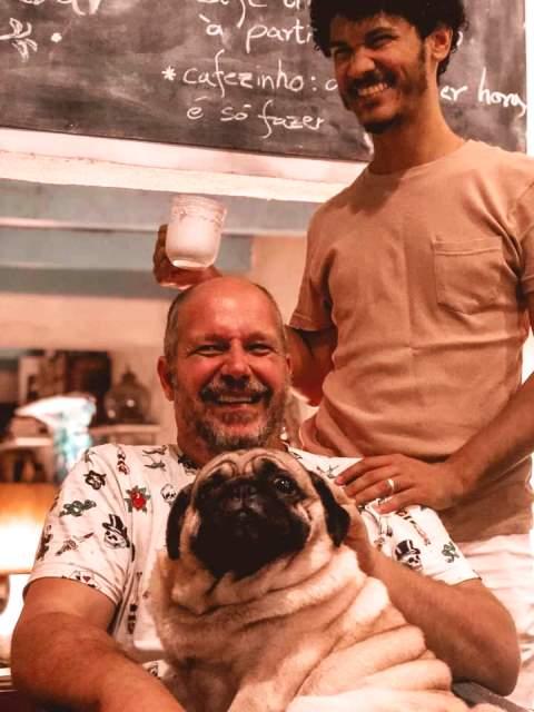 Paquetá por Ricado, Leandro e Jake da Hospedaria Santa Bárbara