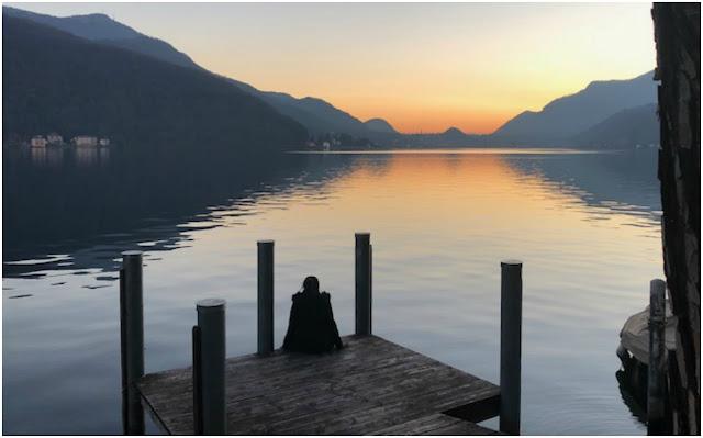 Hiking in Gorgeous Lake Lugano, Switzerland
